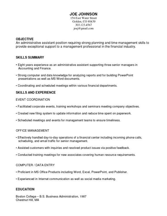 what is functional resume